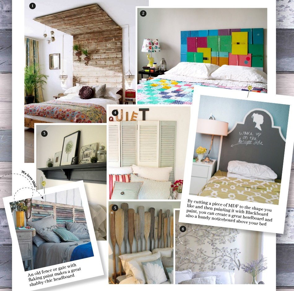 8 Creative Headboards - DIY Projects