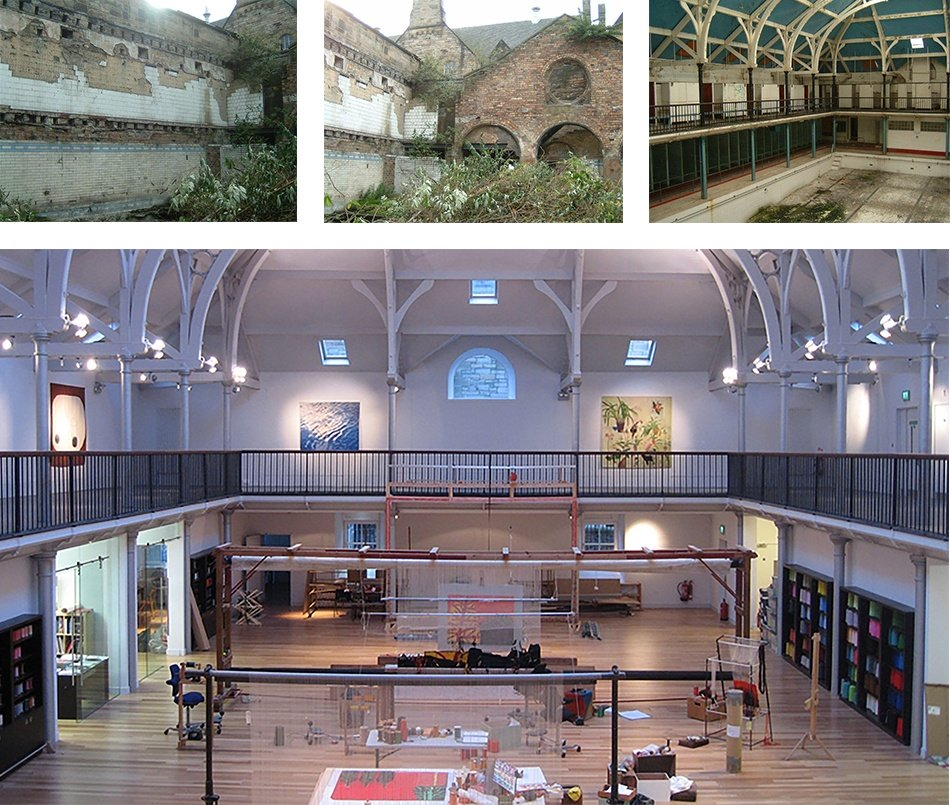 A new lease of life in Edinburgh's New Town  - Dovecot Studios